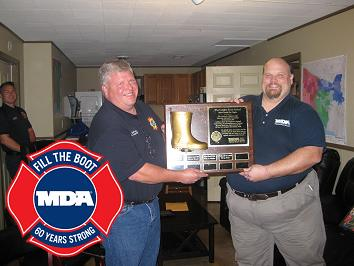 Fire Fighters Win MDA Golden Boot